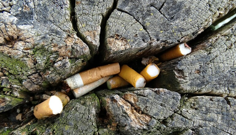10 chiffres sur le mégot de cigarette, cet énorme pollueur que vous ne jetterez plus par terre