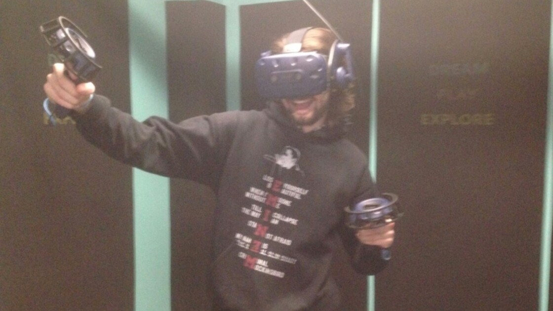 VirtualTime : Nous avons testé les nouvelles salles de jeu en Réalité virtuelle (VR)