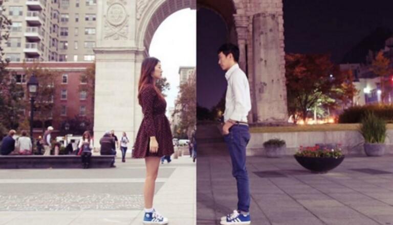 De New York à Séoul, un couple raconte sa relation à distance avec des diptyques poétiques sur Instagram