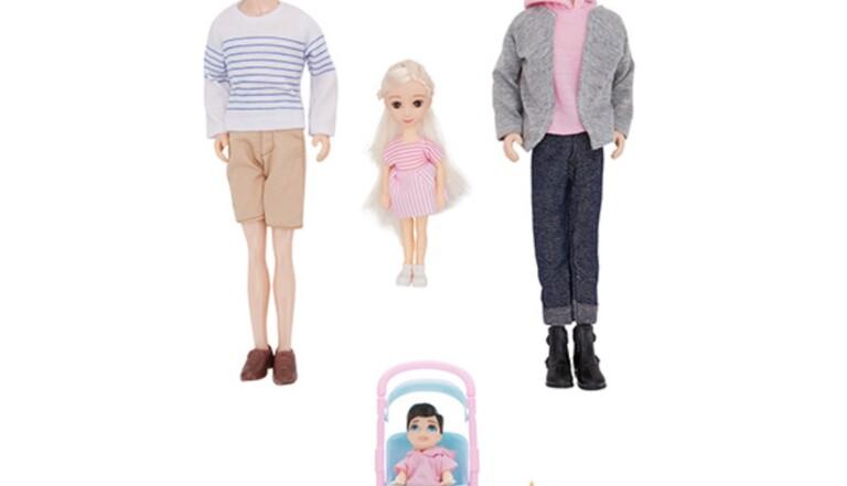 En Australie, des poupées homoparentales pour Noël