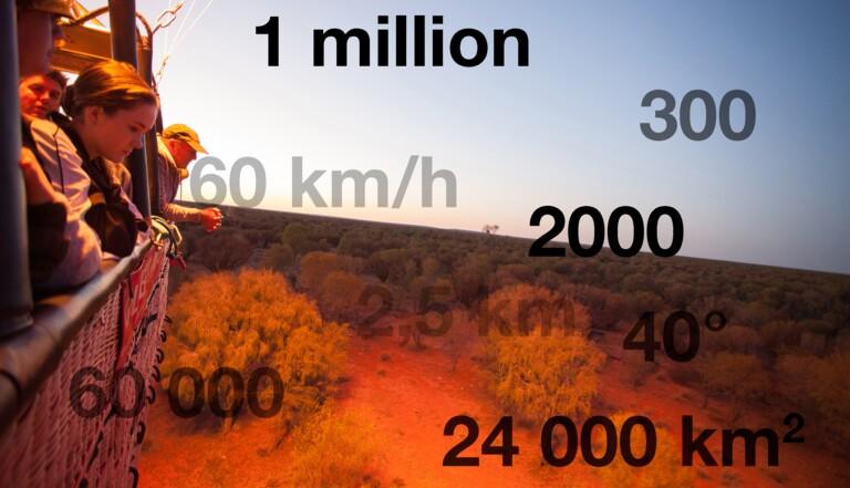 10 chiffres incroyables sur l'Outback australien