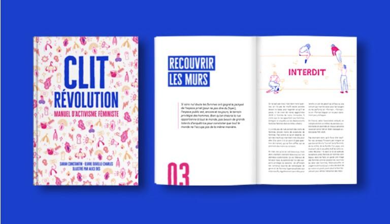 Clit Revolution lance son manuel d'activisme féministe (et a besoin de vous !)