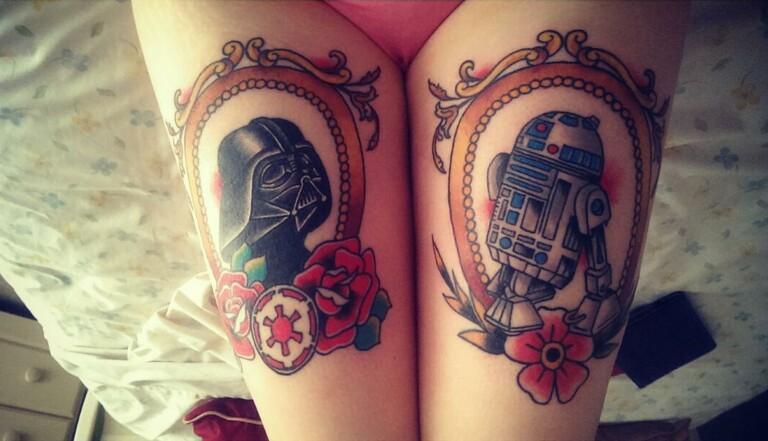 7 tatouages de Star Wars