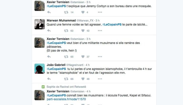 #LeCopainPS : Twitter tacle l'hypocrisie du parti au pouvoir