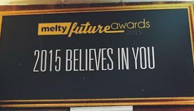 melty Future Awards 2015 : Le palmarès complet de la cérémonie !