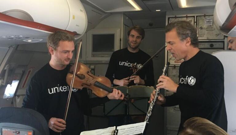 Quand l'Orchestre Philarmonique s'invite dans ton avion #MusiqueEnVol