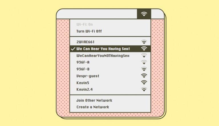 """""""Museum of Wi-Fi"""", le florilège des meilleurs noms de réseaux Wi-Fi"""