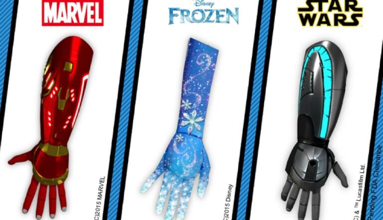 Des prothèses Marvel, Star Wars et Disney pour enfants amputés