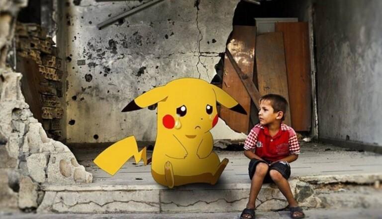 Syrie : les rebelles s'emparent du phénomène Pokémon Go pour attirer l'attention sur le sort des enfants