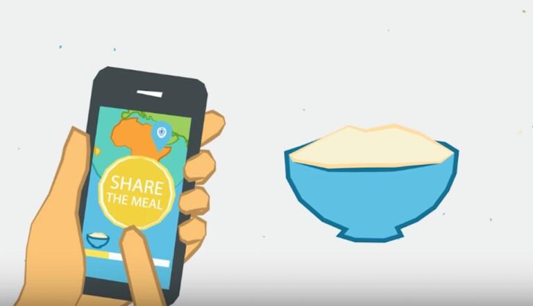ShareTheMeal, l'appli qui permet de partager son repas avec un réfugié