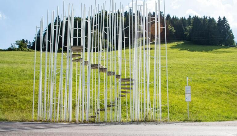 Un village autrichien a fait dessiner ses Abribus par de grands architectes