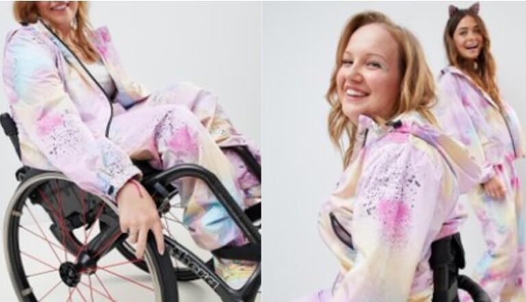Handicap : enfin un survêtement adapté aux fauteuils roulants !