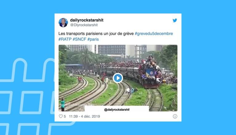 Grève générale : 12 tweets qui prouvent que Twitter est loin de battre en retraite