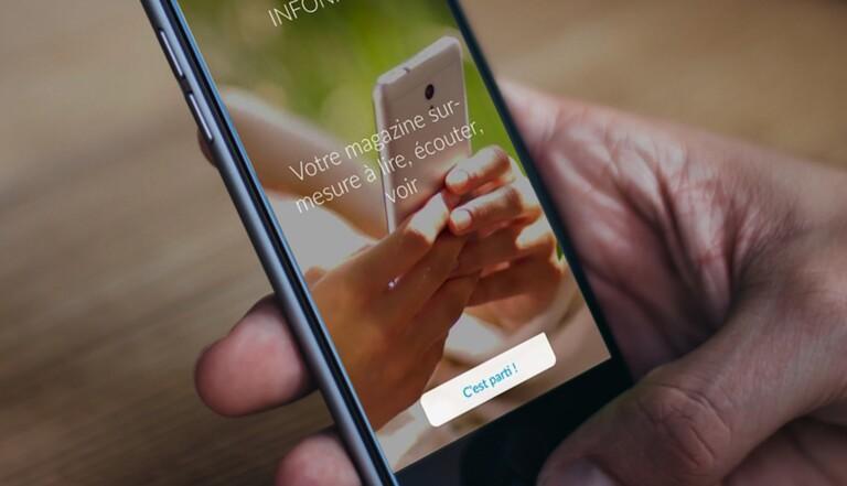 Infonity: la nouvelle appli avec des news à lire, écouter ou voir
