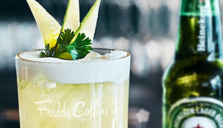 Le cocktail concombré du jour : le Freddy Collins