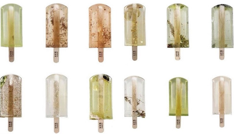 Vous allez adorer ces glaces à l'eau polluée