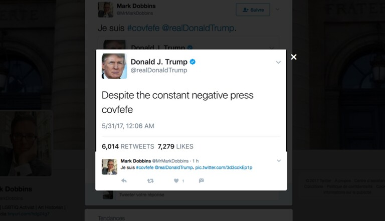 "Top 11 des meilleures interprétations du ""covfefe"" de Trump"
