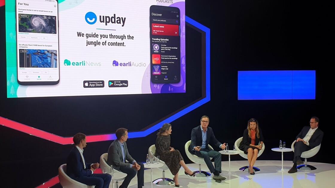 Avec earliNews, upday lance une nouvelle application d'informations sur iOS