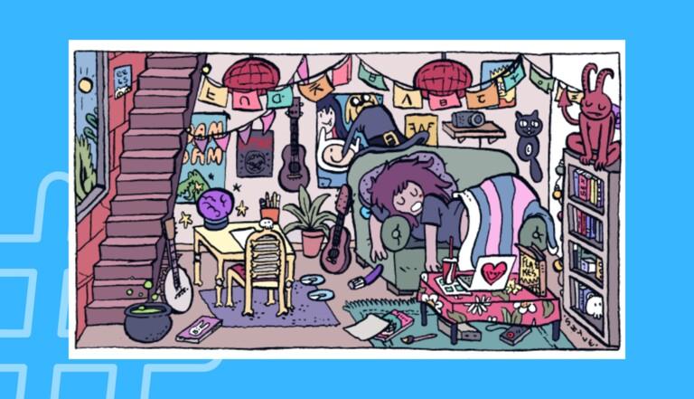 #Coronamaison : le joli projet de dessin collectif de la BD française sur les réseaux sociaux
