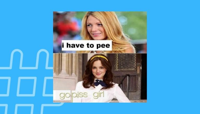 Gossip Girl envahit Twitter avec un mème improbable