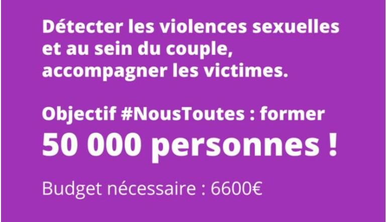 Former simultanément 10000 personnes contre les violences sexistes et sexuelles : le nouveau pari du collectif #NousToutes