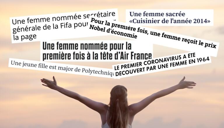 """""""Une femme"""" a désormais sa page Wikipédia qui dénonce avec humour les titres des médias"""