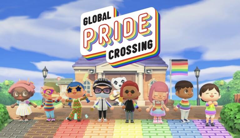 #GlobalPrideCrossing : le mois des fiertés et la Pride s'invitent sur Animal Crossing