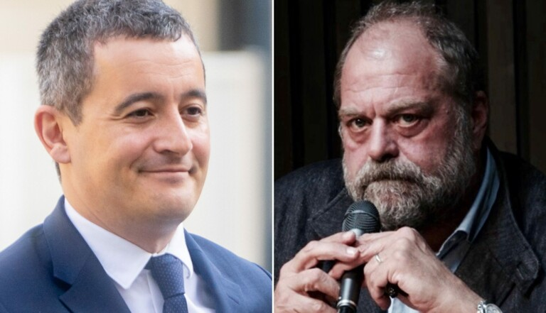Gérald Darmanin / Éric Dupond-Moretti: une pétition demande leur retrait du gouvernement