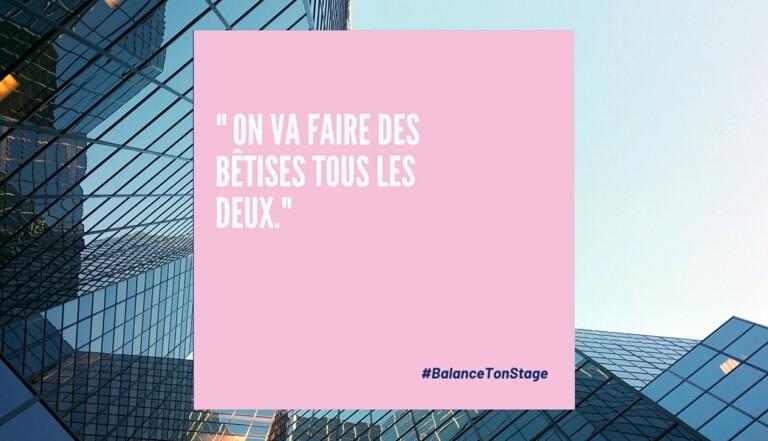 #BalanceTonStage : trois élèves de l'EM Lyon publient un manuel de lutte contre le sexisme en entreprise