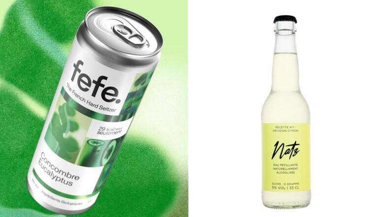Hard seltzer : c'est confirmé, la nouvelle boisson tendance est l'eau pétillante alcoolisée, et les Français s'y mettent