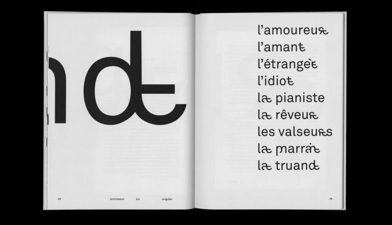 Écriture inclusive : cette nouvelle typographie très poétique mêle féminin et masculin