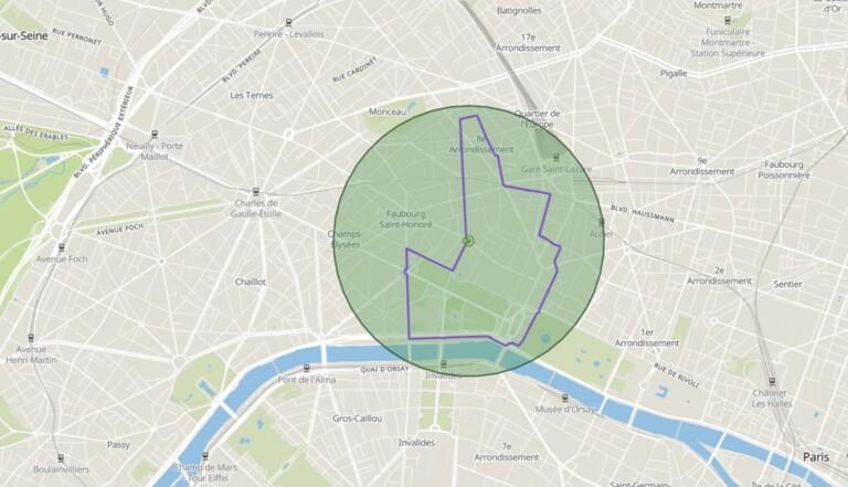 """Confinement : """"Dans mon rayon"""", le service pour trouver la plus longue balade à vélo dans un rayon d'un km de chez vous"""