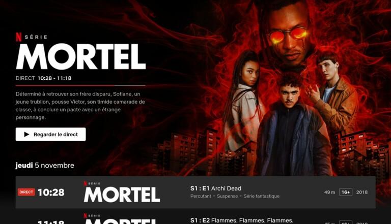 Netflix France lance sa fonction «Direct », comme au bon temps de la télé