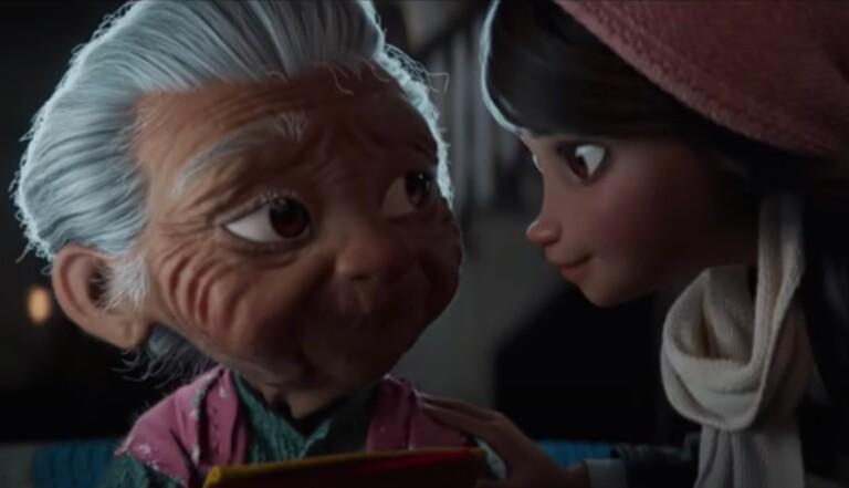 Disney sort un court-métrage publicitaire de Noël émouvant sur une grand-mère et sa petite fille