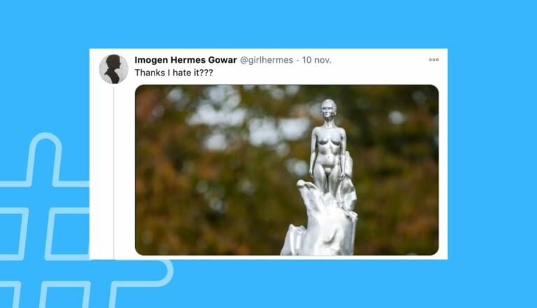 Pourquoi faut-il forcément mettre les femmes à poil ? A Londres, la statue de la féministe Mary Wollstonecraft fait polémique