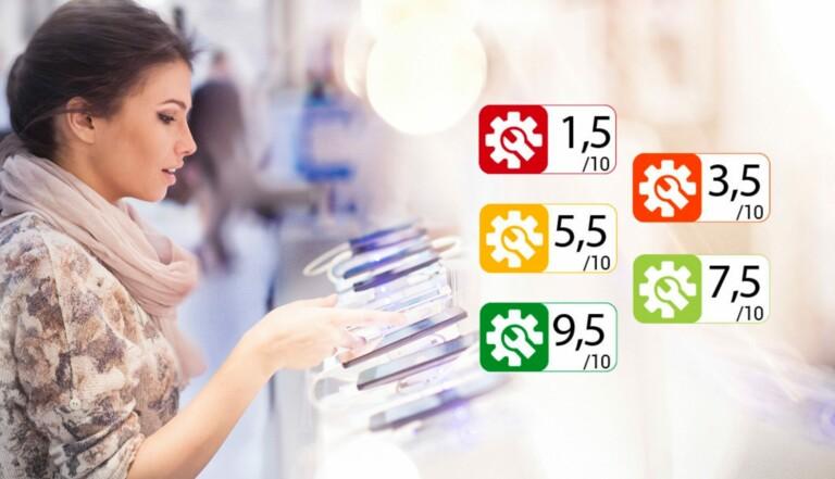 Indice de réparabilité : à quoi sert cette étiquette qui arrive sur les produits le 1er janvier ?