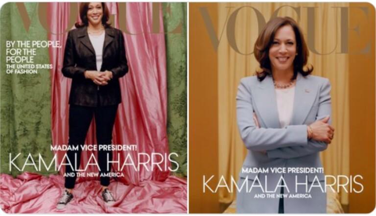 Pourquoi la couverture de Vogue avec Kamala Harris fait polémique
