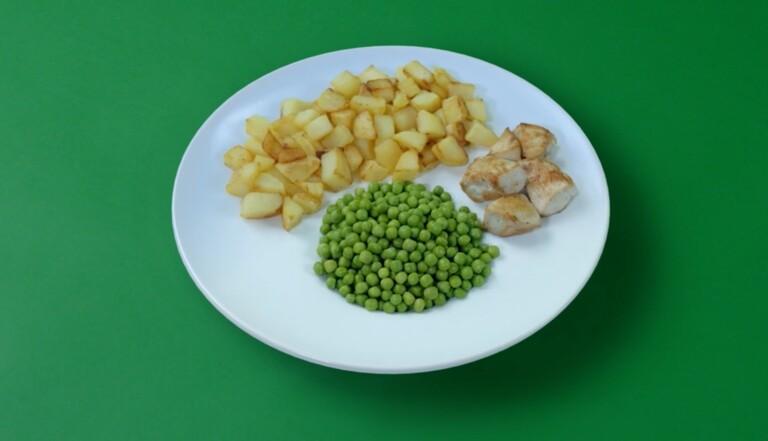 Cette assiette et ses illusions d'optique promettent de faire manger plus de légumes aux enfants