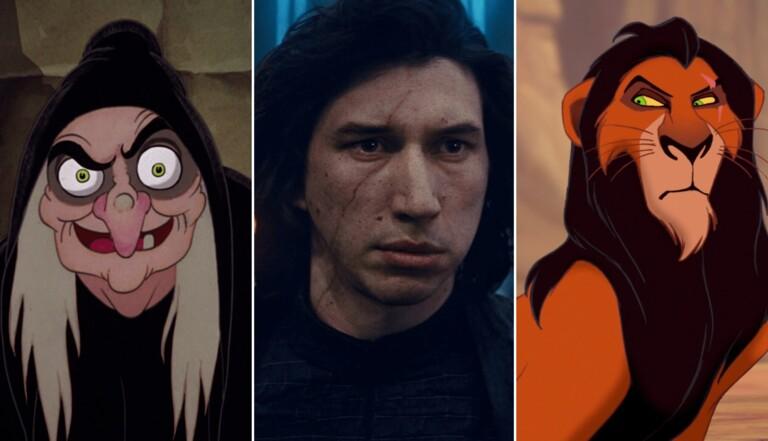 Scar, Dark Vador, Kylo Ren... Pourquoi les méchants ont souvent le visage marqué ?