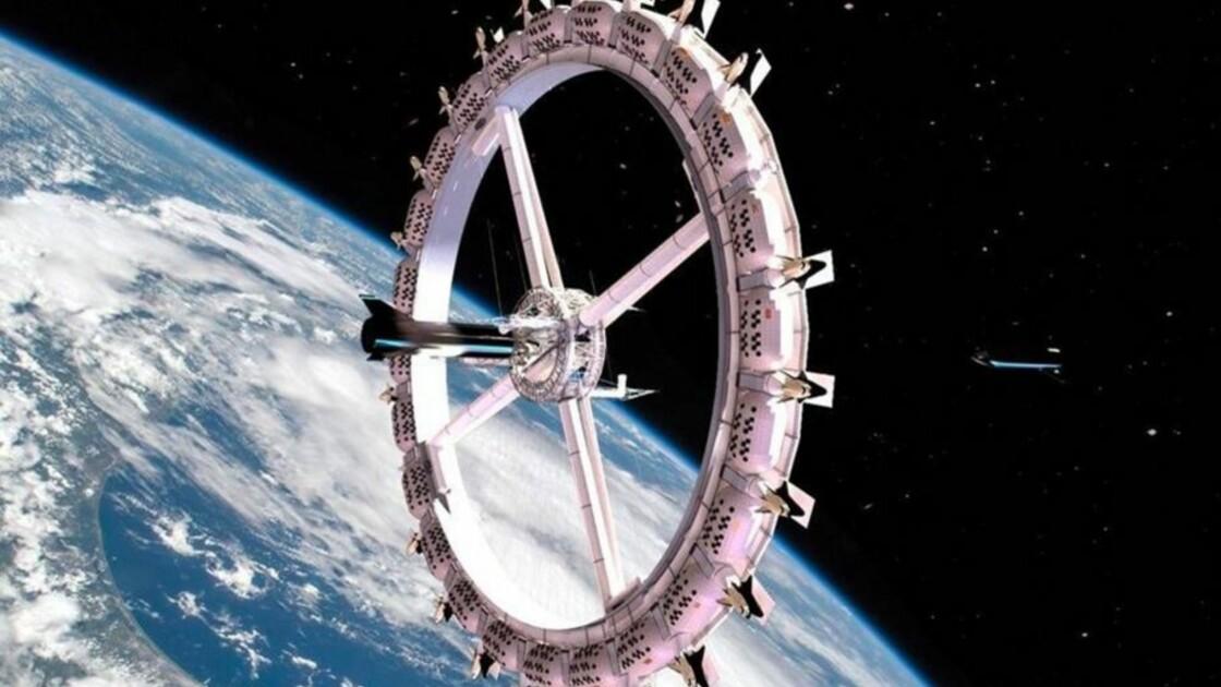 Le premier hôtel dans l'espace pourrait voir le jour en 2027