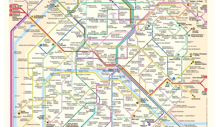Spots culturels, bars, anagrammes... 5 plans de métro RATP revisités pour voyager autrement