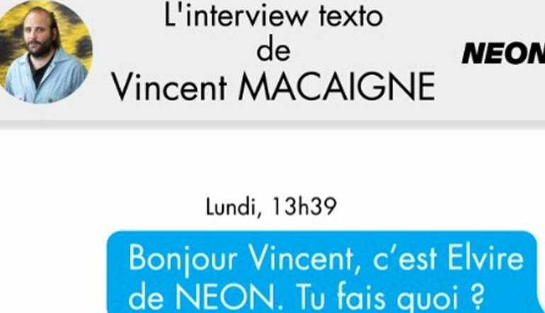 [VIDEO] L'interview Texto de Vincent Macaigne