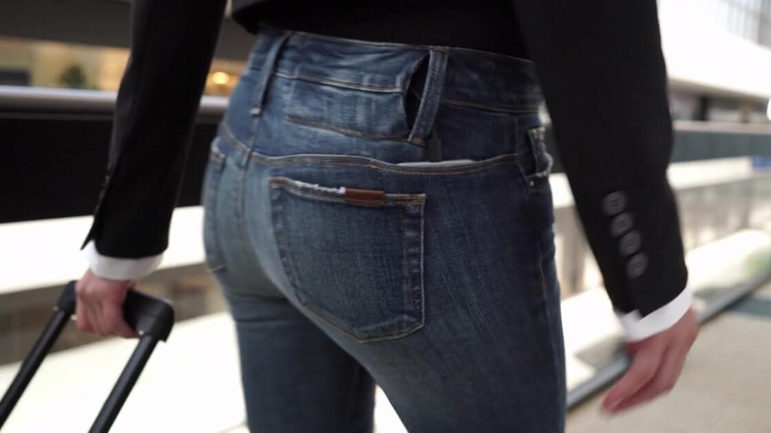 Le jean qui recharge votre iPhone