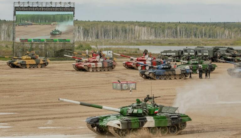 Army Games : aux J.O. militaires en Russie, biathlons de tank et épreuves d'espionnage