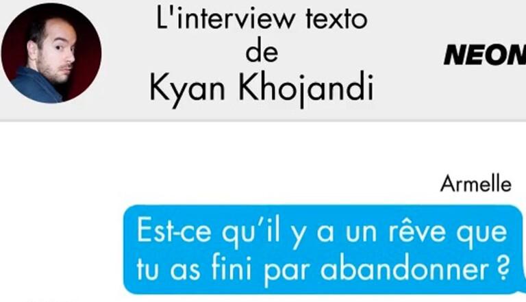 [VIDEO] L'interview Texto de Kyan Khojandi