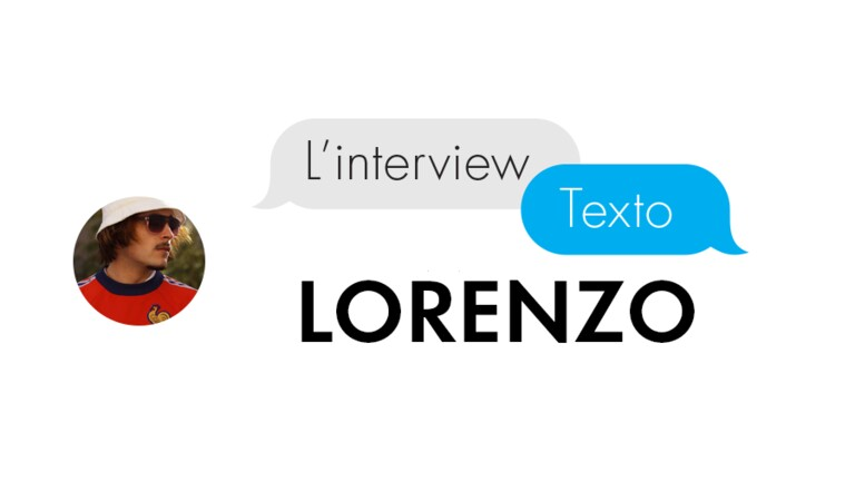 [VIDEO] L'interview Texto de Lorenzo