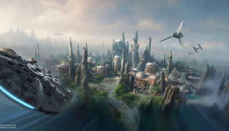 Deux parcs d'attractions Star Wars aux États-Unis