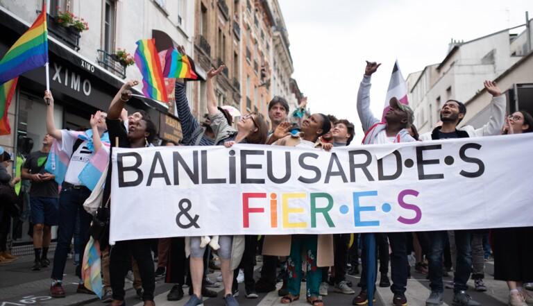 Un millier de personnes pour la première Pride des banlieues