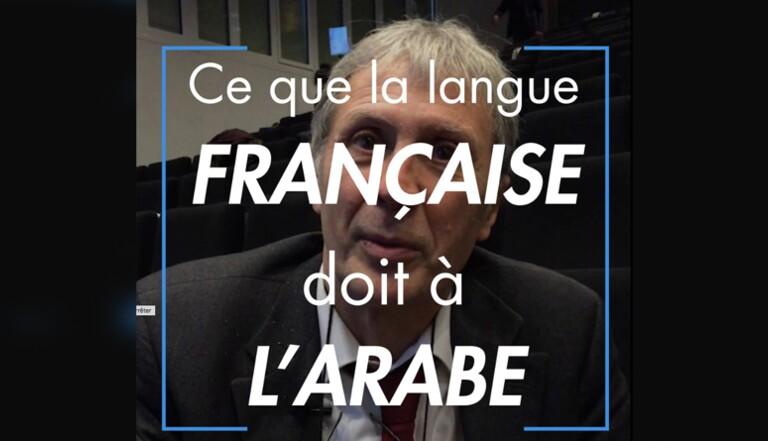 Ce que la langue française doit à l'arabe