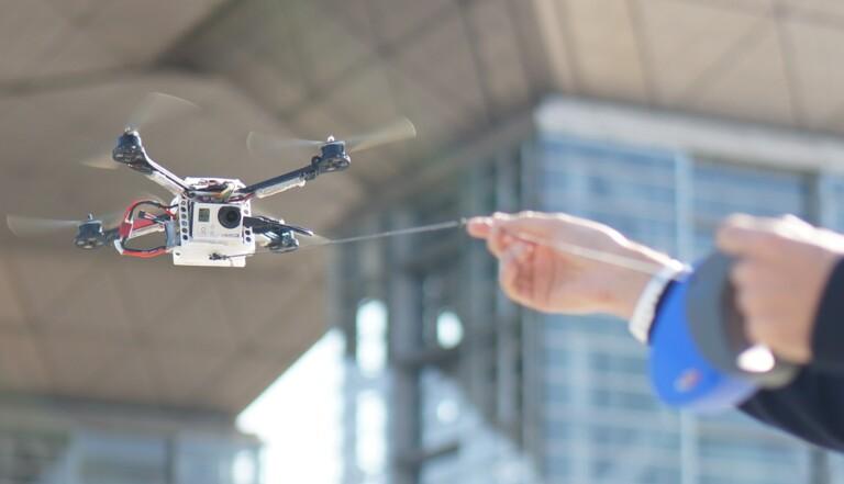 Le drone à selfie